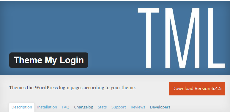 plugins theme login